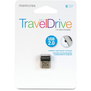 Memorex 8GB Micro TravelDrive USB 2.0 Flash Drive MEM98860