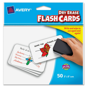 Avery Printable Flash Card AVE15349