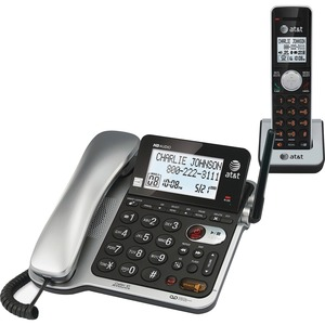 AT&T CL84102 DECT 6.0 Cordless Phone - Silver ATTCL84102