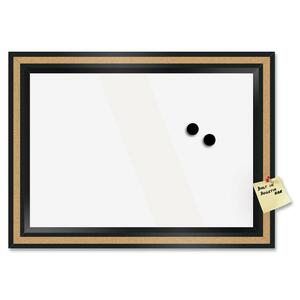 The Board Dudes Dry Erase Magnetic Cork Combo Board BDU13467UA4