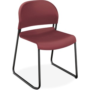 HON Stack Chair w/Painted Legs HON4031MBT