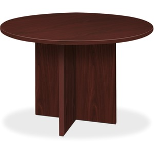 Basyx by HON BL Round Conference Tables with X-Base BSXBLC48DNN