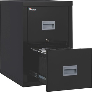 FireKing Patriot Series 2-Drawer Vertical Files FIR2P1825CBL