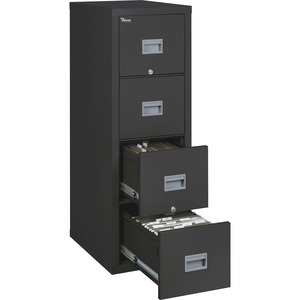 FireKing Patriot Series 4-Drawer Vertical Files FIR4P1825CBL