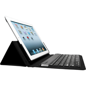 Kensington KeyFolio Expert Keyboard/Cover Case (Folio) for iPad - Black KMW39531