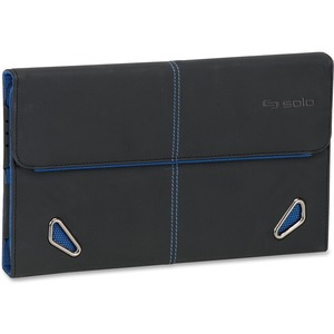 "Solo Carrying Case for 7"" Digital Text Reader, Tablet PC - Blue USLTCC224420"