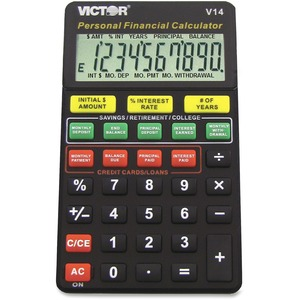 Victor V14 Personal Financial Calculator VCTV14