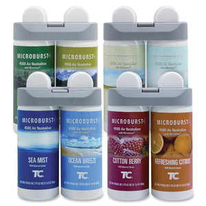 Rubbermaid 3486092 Microburst Duet Variety Pack (1 of ea. refill) RCP3486092