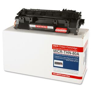 Micromicr MICR Toner Cartridge - Replacement for HP (CF280A) - Black MCMMICRTHN80A