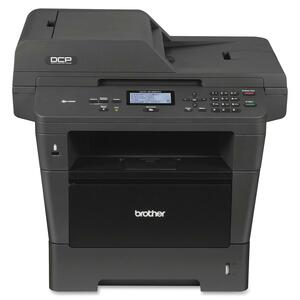 Brother DCP-8155DN Laser Multifunction Printer - Monochrome - Plain Paper Print - Desktop BRTDCP8155DN