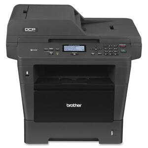 Brother DCP-8150DN Laser Multifunction Printer - Monochrome - Plain Paper Print - Desktop BRTDCP8150DN