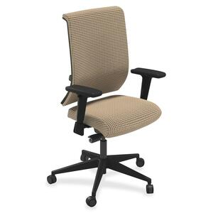 Mayline Commute Series Fully Upholstered Task Chair MLNC1BU2ELTELT