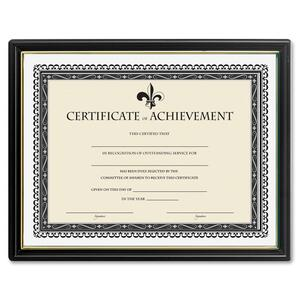 Lorell Certificate of Achievement Black Frame LLR31885