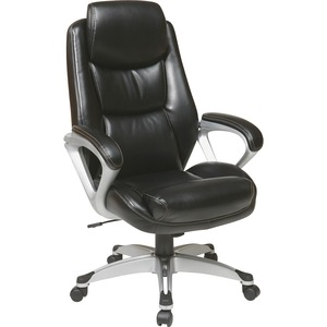 Lorell Executive Leather high-back Chair LLR52120