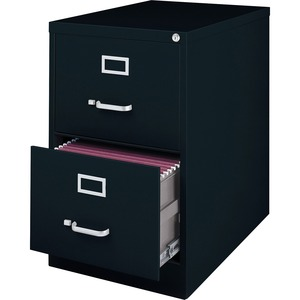 Lorell Commercial Grade 28.5'' Legal-size Vertical Files LLR88043
