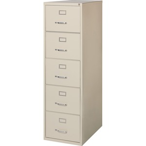 Lorell Commercial Grade 28.5'' Legal-size Vertical Files LLR88048