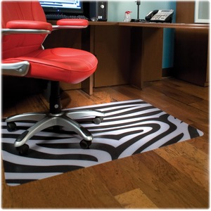ES Robbins Zebra Printed Chair Mat ESR118774