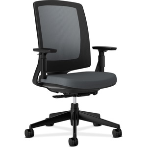 HON Lota Series Black Frame Mesh Back Work Chair HON2281VA19T