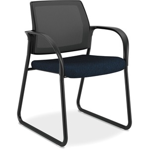 HON Mesh Back Sled Base Guest Chairs HONIB108NT90
