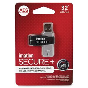 Imation Secure Drive Hardware Encrypted Flash Drive IMN28909