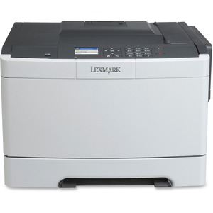 Lexmark CS410N Laser Printer - Color - 2400 x 600 dpi Print - Plain Paper Print - Desktop LEX28D0000