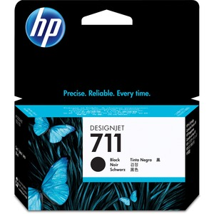 HP 711 38-ml Black Ink Cartridge HEWCZ129A