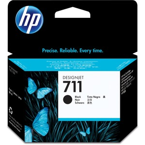 HP 711 80-ml Black Ink Cartridge HEWCZ133A
