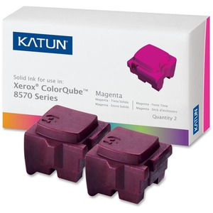 Katun Solid Ink Stick - Replacement for Xerox (108R00927) - Magenta KAT39397