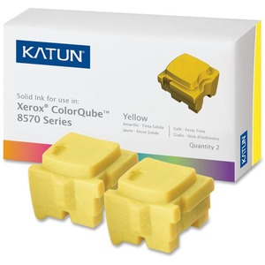 Katun Solid Ink Stick - Replacement for Xerox (108R00928) - Yellow KAT39399