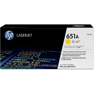 HP 651A (CE342A) Yellow Original LaserJet Toner Cartridge HEWCE342A