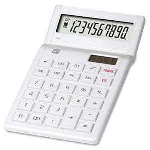 Compucessory 10-Digit Tilt Head Handheld Calculator CCS15162