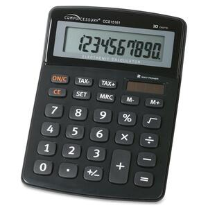 Compucessory 10-Digit Handheld Calculator CCS15161