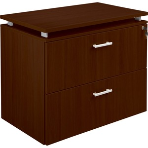 Lorell Concordia Laminate Desk Ensemble LLR81935