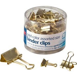 OIC Assorted Size Binder Clips
