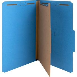 Nature Saver Cleared Top-tab 1-Divider Classification Folder NATSP17221