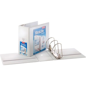 Cardinal XtraLife ClearVue Non-Stick Locking Slant-D Ring Binder CRD26360