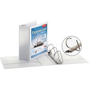 Cardinal ExpressLoad ClearVue Locking D-Ring Binder CRD49140