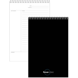 "TOPS FocusNotes Steno Book, 6"" x 9"", White, 80 SH TOP90222"