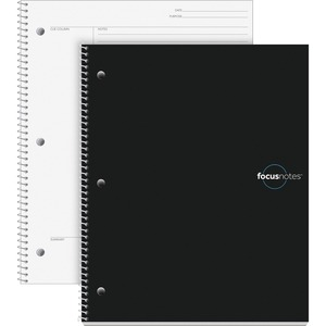 "TOPS FocusNotes Notebook, 11"" x 9"", White, 100 SH TOP90223"