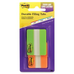 Post-it Portable Pack Durable File Index Tabs MMM6862GOT