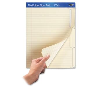 Find It File Folder Note Pad IDEFT07210