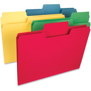 Smead 15410 Assortment SuperTab Heavyweight File Folder SMD15410