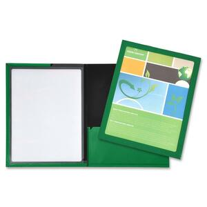 Lion Framed View Cover Presentation Folder LIO52095GR
