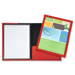 Lion Framed View Cover Presentation Folder LIO52095RD