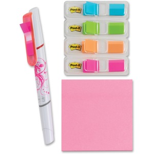 Post-it Post-it Electric Glow Flag Highlighter & Notes MMM683VAD3
