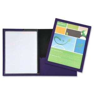 Lion Framed View Cover Presentation Folder LIO52095BL