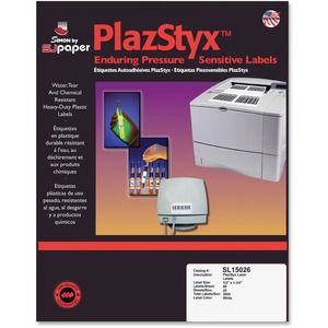 SJ Paper PlazStyx Pressure-Sensitive Label SJPSL15026