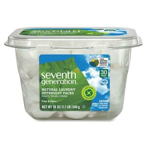 Seventh Generation Natural Laundry Detergent Packs SEV22859