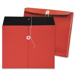 Lion Two-tone Opaque Side-load Poly Envelopes LIO32230RD