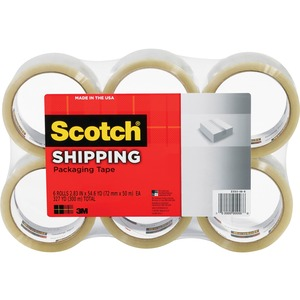 Scotch Light-Duty Box Sealing Packaging Tape MMM3350XW6